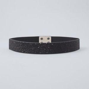 NWT WHBM Embellished Stretch Belt Sz S